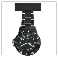 100pcs Cute Pocket Watch Doctor & Nurse Watch with Clip for MEN/LADY (10 colors available)