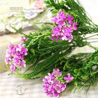 Phoeni plants flower green artificial flower artificial grass fresh rustic home artificial flower silk flower bowyer