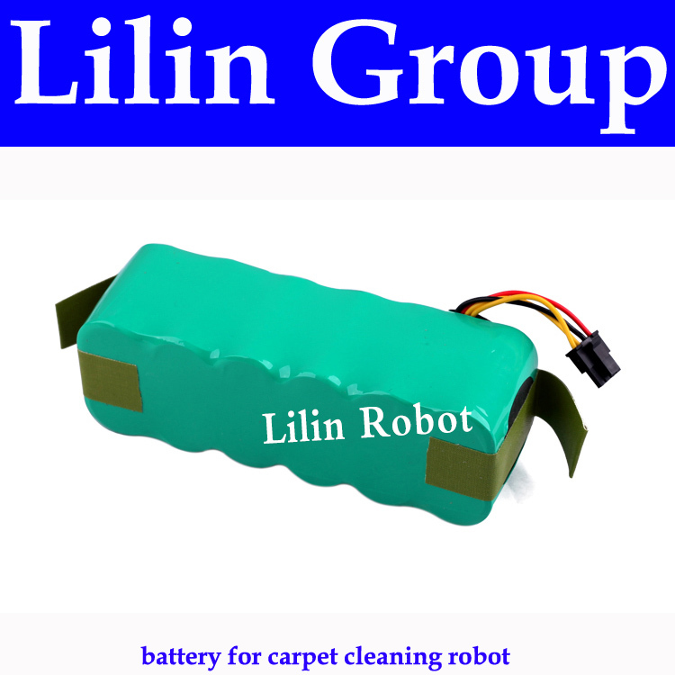 (For X500,X550,B2000,B3000,B2005,B2005 PLUS) Battery for Carpet Cleaning Robot, DC14.4V,2000mAh,Ni-MH,1pc/pack, Robot Spare Part(China (Mainland))