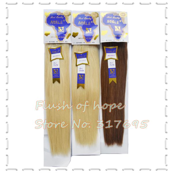 Blonde Yaki Hair Extensions 14