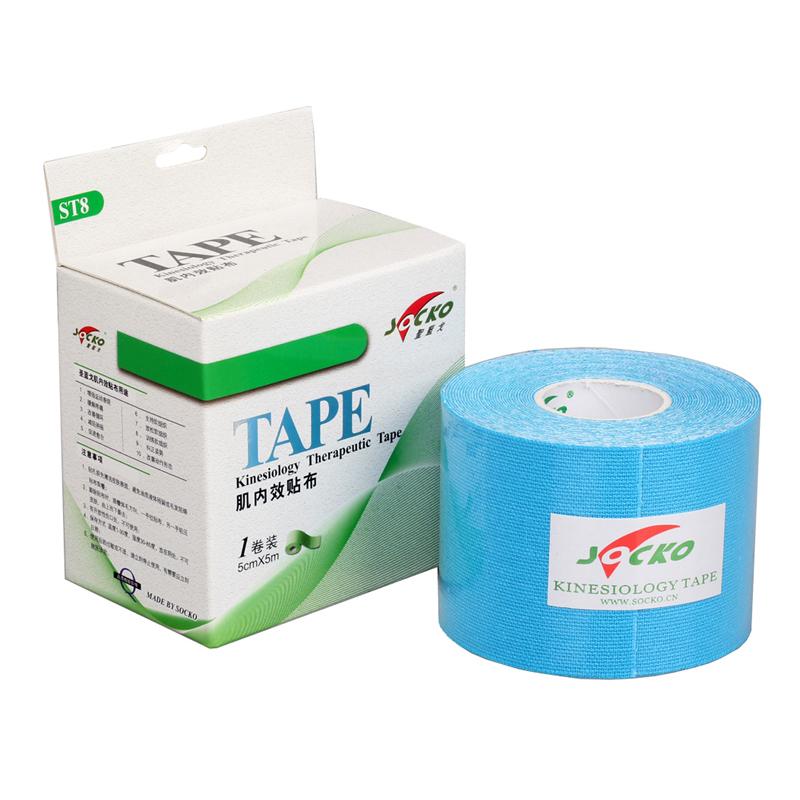 Elastic-100-Cotton-Kinesio-font-b-Tape-b-font-5CM-X-5M-6-font-b-Color