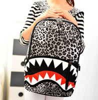 2014 New Fashion Hot Sale casual leopard print bags one shoulder handbag women's handbag leather messenger bag d-035