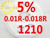 5000PCS 1210 Resistor 0.01R - 0.018R 5% 1/3W SMD Resistor 1210 Chip Resistors