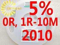 4000PCS 2010 Resistor 0R , 1R - 10M 5% 1/2W SMD Resistor 2010 Chip Resistors