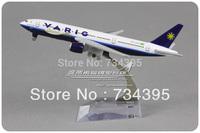 VARIG Brazilian Airlines Boeing B777 PP-VRD 16cm alloy die cast metal aircraft model simulation vehicles planes souvenir toys