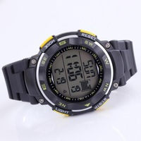 silicone watch Electronic watches LED digital wrist watch sport watch waterproof chronograph for men free shipping