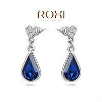 Christmas Delicate Large zircon Earrings,Gift to girlfriend is beautiful,Pure handmade fashionable elegance,2020258390