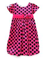 Girls Polka DOT Princess short Sleeve Dress 7-14 Y Clothes NEW Casual Korean Style Party Bow Kids Girls Dress