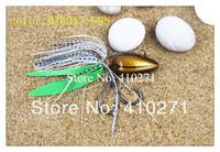 MJL017_100, 100g, 5 Colors, Metal jig lures, skirt fishing baits, fishing lure