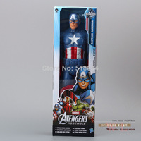 """Super Hero Captain America The First Avenger PVC Action Figure Collection Model Toy 12""""30CM Free Shipping"""