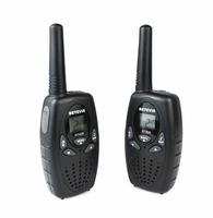 A Pair RETEVIS RT628 mini Radio Walkie Talkie 0.5W UHF Europe Frequency 446MHz LCD Display Portable Ham CB Two-Way Radio A1026B