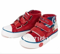 2014 spring high child canvas shoes  star canvas shoes boys and girls casual shoes