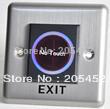Infrared sensor exit button for electric door lock