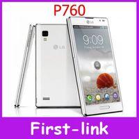 Unlocked Original LG Optimus L9 P760 mobile phones Android 4GB Internal Dual core Wifi GPS 3G 5MP Camera Free shipping