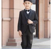 Male child formal dress quality 2014 children's clothing sets  child slim suit blazer 6pcs set boys sets