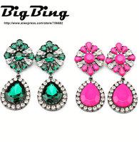 BigBing Fashion jewelry  fashion accessories neon color handmade earring  free shipping N1127