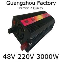 Home Inverter 48v 220v 3000w Home Emergency Power Supply  48v inverter 3000w DC 48V to AC 220V Outdoor Emergency Power Supply