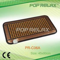 FIR tourmaline heating therapy mat from POP RELAX PR-C06A 45x80cm FLAT