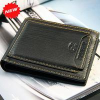 Fashion Multi-bit Cards Men's Wallets Genuine Cow Leather Unique Design  Brand Business OL Purse Clutch Wallets,Gifts,ZX-D526-40