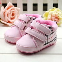 New fashion 1pair PU Leather First Walkers Baby Boy/Girl Soft Shoes,antiskid kids Shoes,Super Quality Infant/Toddle Pre-walker