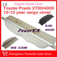 OEM Tonneau Cover For 2010/2011/2012/2013 Toyota Land Cruiser Prado Accessories , rear cargo cover in car trunk