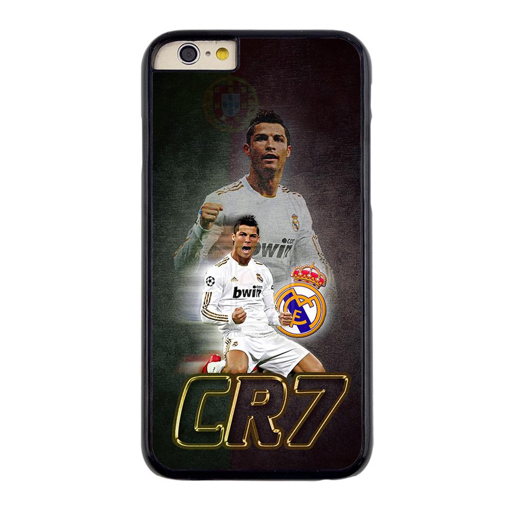 Portugal Football Superstar Ronaldo CR #7 Hard Plastic Case for iPhone 4/4s 5/5s 5C 6 6 Plus(China (Mainland))