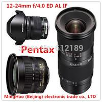 Free shipping PENTAX/K5 K30 KR K01 DA12-24 / F4 digital SLR Camera lens PENTAX interface wide-angle zoom lens Camera Lenses