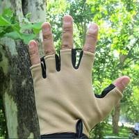 half gloves/anti-skidding wear-resisting military gloves for men Assault combat khaki gloves