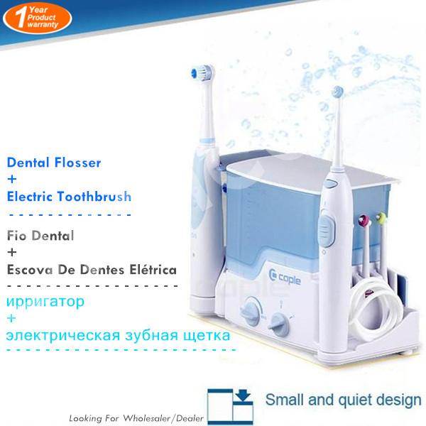 Originale ip-5506 casa spazzolino da denti elettrico e acqua flosser idropulsore orale per uso familiare 5506 spedizione gratuita