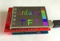 Free Shipping! 10pcs/lot 2.4 inch TFT touch LCD Module LCD Screen Module For Arduino UNO R3