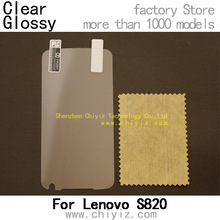 3 x High Quality Clear Screen Protector Film Guard For Lenovo S820 S820e