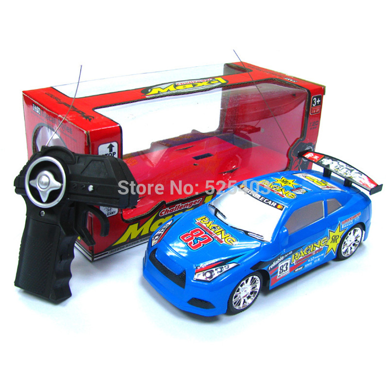 RTR Sprint 2 Drift Remote Control Car TOY Electric NEW 2014 R/C CAR 2WD 1/20 Scale 27MHz Radio Control RC Car 1.45(China (M
