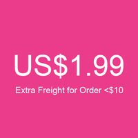 (Minimum Order is $10) Extra Shipping Freight $1.99 is for Order < US$10