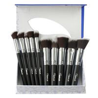 1 set high quality 10 pcs soft synthetic hair professional makeup brush set sixplus brushes cosmetic kits