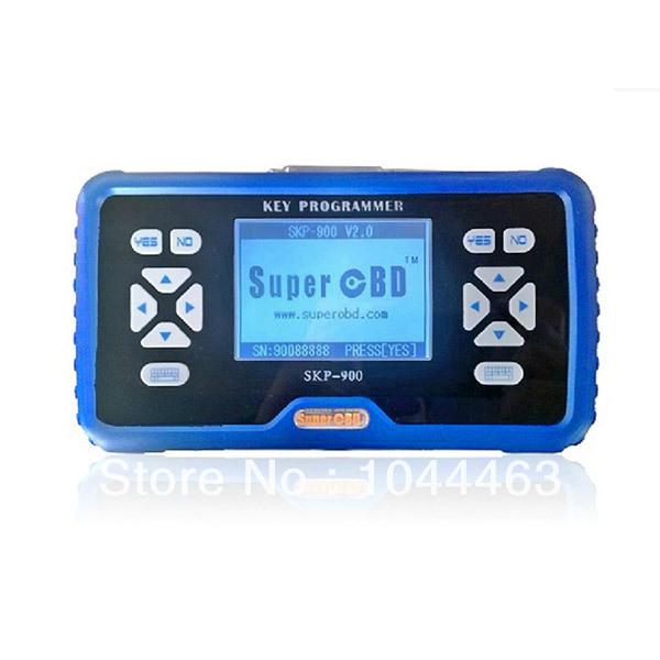 New 2014 Arrival SuperOBD SKP-900 Hand-held OBD2 Auto Key Programmer Tools Electric obd2 Auto Diagnostic Tool(China (Mainland))