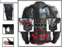 2014 New Motorcycle Armor Body Guard body armor otocross Gear jacket M, L, XL, XXL, XXX am L Black Free Shipping