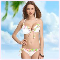 Новый летний пляж Купальники полиэфирное покрытие ups парео туника платье белого цвета