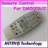 1pc Black / White Dm500 DM500 Remote Control For DM500S/C/T  Satellite TV Receiver Free Shipping