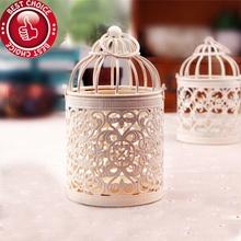 Free Shipping ,Bird Cage Decoration Candle Holders, Bird Cage Wedding,Candlestick(China (Mainland))