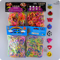 Hot Mix Colors 2400pcs Colorful Rubber Loom Bands Accessories DIY Bracelets Children Popular Party Gift Fashion Jewelry