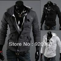 HOT!New coats men outwear Mens Special Hoodie Jacket Coat men clothes cardigan style jacket