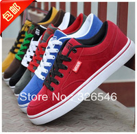 Trend all-match men's low skateboarding shoes men's casual shoes plus size extra large women's male shoes