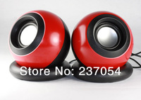 New Fashion multimedia USB Magic Ball speakers Portable Style Audio mini Speaker for desktop Computer Laptop mp3 mp4 loudspeaker