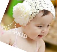 Baby Girl's Rose Flower Headband Headwear,Girls Topknot Hair Accessories,Infant Hair Band Headbands free shipping
