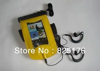 High Quality Mobile Phone Waterproof PVC Bag Case Underwater Pouch for Apple iPhone5 iphone 4 free shipping