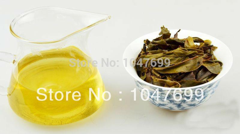 Free shipping Pu er tea Ancient porn yellow gold leaf yunnan puer tea cake the seventh