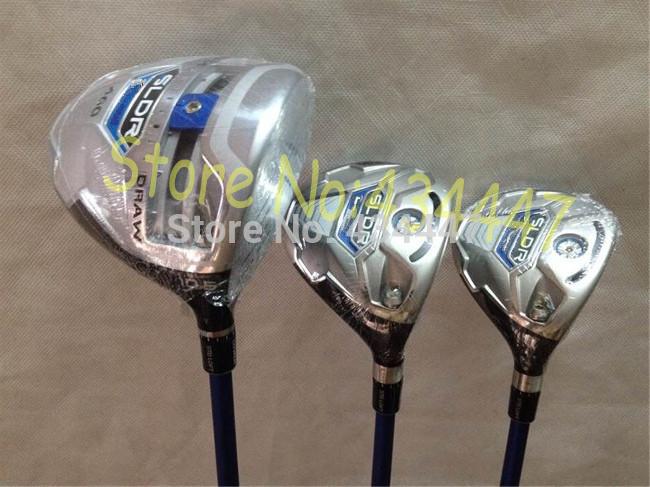 golf clubs SLDR driver 10.5 loft + sldr fairway wood 3# 5# Regular flex 3pcs/lot include headcovers(China (Mainland))