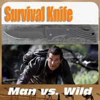 Pocket  Camping,Hunting,Wild Survival Folding Blade Bear Knife free Shipping