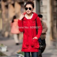 Plus Size L-5xl 6xl (fits 90-100kg) Female Dress 2014 Autumn New Arrival Women's Cardigan Cotton Jacket Woman Sweatshirt Coat