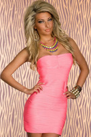 dress shirt Free Shipping Beautiful Seductive Party Mini Fluorescent Green Lace Tank Bodycon Dress LC2925